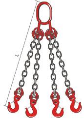4СЦ – строп на цепях четырехветвевой